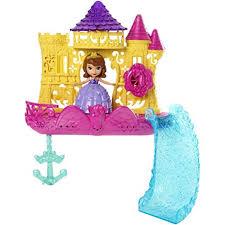 disney sofia floating palace bath playset toys