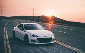 Subaru Brz White Wallpaper Wallpaper