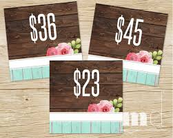 5x5 album honey lace pricing cards honey and lace price card 5x5