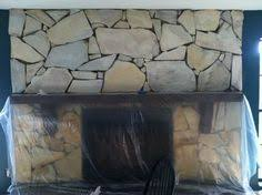 White Washed Stone Fireplace Life by White Washed Stone Fireplace Using Annie Sloan Chalk Paint