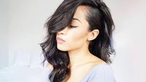 hair style for women with one side of head shaved one side shaved hairstyle fade haircut