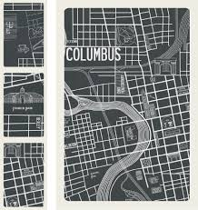 Map Of Franklin County Ohio by Columbus Ohio 1937 Map Apartment B Window Shades Pinterest
