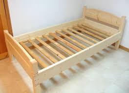 Kid Bed Frame Wood Bunk Beds For Bed Frames Cheap Regarding