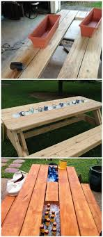 Best  Picnic Table Plans Ideas On Pinterest Outdoor Table - Patio table designs