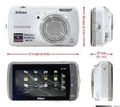 nikon coolpix s800c android camera first look digital photography