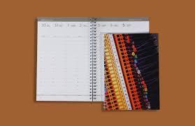 reliure bureau agenda semainier v24 format 16 x 23 5 cm à couverture imprimée