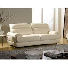 la maison du canapé la maison du canapé canapé cuir 3 places lesko cuir prestige