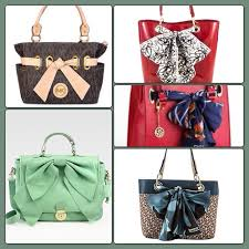 bags with bows on them all of them dresss shoes
