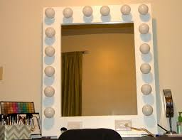Lighted Vanity Mirror Diy Vanity Mirrors With Lights Diy Home Design Ideas