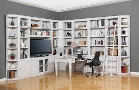 Computer Desk With Bookcase by Parker House Boca Six Piece Entertainment Center Bookcase