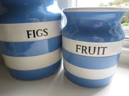 Teal Kitchen Accessories by Cornishware Figs U0026 Fruit Blue Kitchen Accessories Pinterest