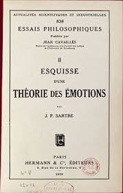 sketch for a theory of the emotions wikipedia
