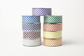grosgrain ribbon team spirit trend 1 5 inch grosgrain ribbon w diagonal stripes