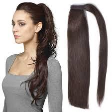 human hair extension bhf ponytail hair extension 100 human hair 18 2 100g