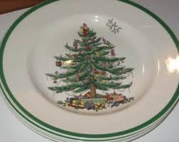 spode tree salad plates rainforest islands ferry