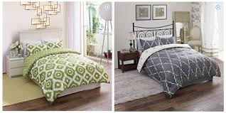 Bon Ton Bedding Sets walmart twin full or queen comforter sets only 16 98 shipped