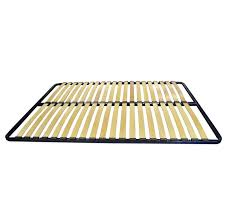 metal tubular slatted bed base for king size beds