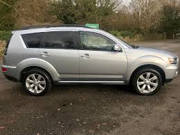 white mitsubishi outlander used silver mitsubishi outlander for sale port talbot