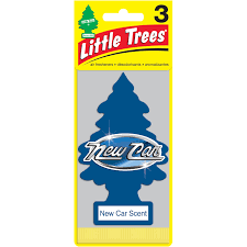 trees air fresheners new car scent 3 pack walmart