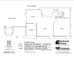 civic center floor plan 20700 civic center dr southfield mi 48076 property for lease