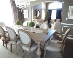 Rustic Dining Room Table Decor Gray Dining Room Table Visionexchange Co