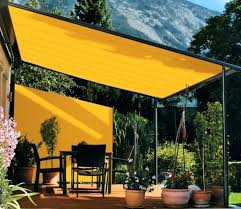 Backyard Shade Canopy by Diy Deck Shade Ideas Outside Canopy Ideas Triangle Sail Shade