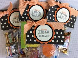 fun fast friday stampin u0027 up easy halloween treat bag topper