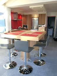 table bar pour cuisine bar pour cuisine cool table bar pour cuisine superb hauteur table