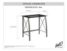 Desk Measurements by Bell U0027o International Corporation Avs4601hg