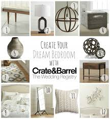 furniture wedding registry sweet dreams with a wedding registry from crate and barrel