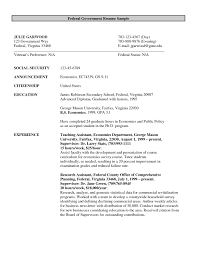 Resume Sample And Format by Government Job Resume Template Haadyaooverbayresort Com