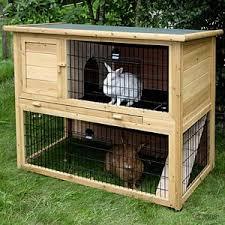 small pet rabbit hutch classic double rabbit hutches