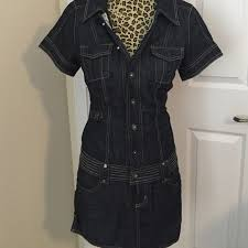 guess guess denim dress from evie u0027s closet on poshmark