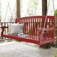 lautan llc avoca 3 person seat swing outdoor daybed porch and