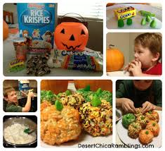 Rice Crispy Treat Pumpkins Rice Krispies Pumpkin Surprise Treats Recipe U0026 Giveaway