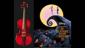 sally s song the nightmare before acoustic violin