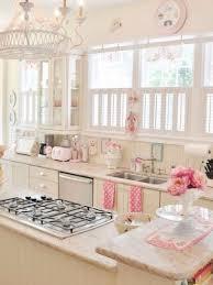 pink kitchen ideas vintage yet romantic kitchen to suit your taste shabby kitchens