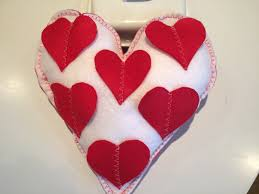 valentine u0027s day gift heart shape pillow home decor gift ideas