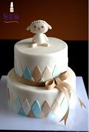 lamb sheep baby shower two tier baby shower cakes pinterest