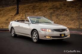 convertible toyota 2002 toyota camry solara sle concord ca carbuffs concord ca