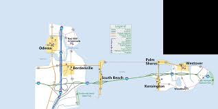 I 95 Map Map Of Odessa And Westover Islands
