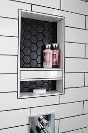 Hexagon Backsplash Tile by Best 25 Hex Tile Ideas On Pinterest Subway Tile Bathrooms