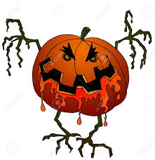 halloween mask leopard gecko cartoon image of a scary screaming halloween monster mummy head