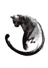best 25 black cat art ideas on pinterest black cat illustration