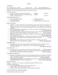 Computer Science Resume Templates Sample Resume For Internship In Computer Engineering