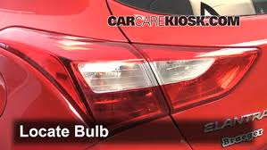 2013 hyundai sonata tail light bulb size brake light change 2013 2017 hyundai elantra gt 2013 hyundai