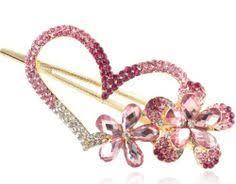 beautiful hair pins 1 x women colorful women retro butterfly flower