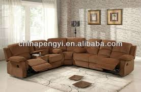 middle table living room living room corner l shape sofa fabric motion sofa with middle
