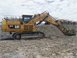 our featured excavator is a 2013 caterpillar 6018 10m3 bucket