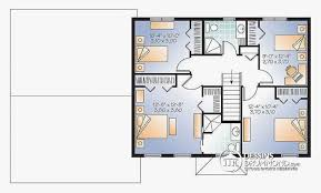 plan maison 4 chambres etage plan maison etage 4 chambres gratuit unique plan maison etage 4